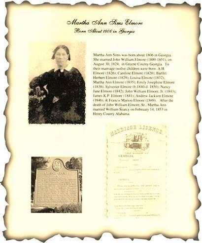 Elmore John William Martha Sims 1851 1800
