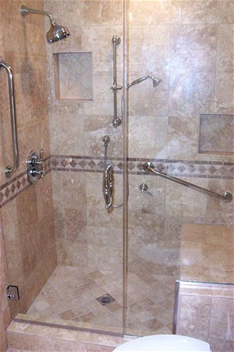 fitting  walk  shower