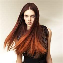 tie and dye roux coiffures cheveux couleur cheveux et coiffure