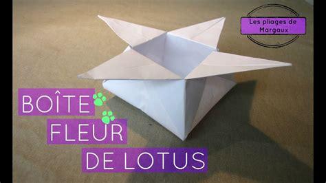 origami pliage bo 238 te fleur de lotus by margaux