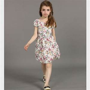Korean Patchwork Floral Dresses for Teen Girls Attractive ...