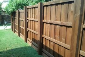 fence staining texas  stain