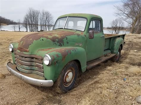 Original Chevrolet Pickup Farm Truck With Patina For Sale