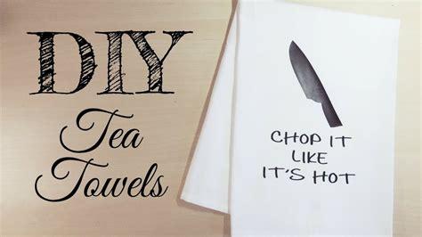 diy tea towels  htv     svg  etsy