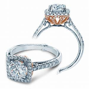 Verragio Engagement Rings 050ctw Diamond Setting