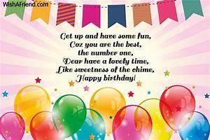 Kids Birthday Messages