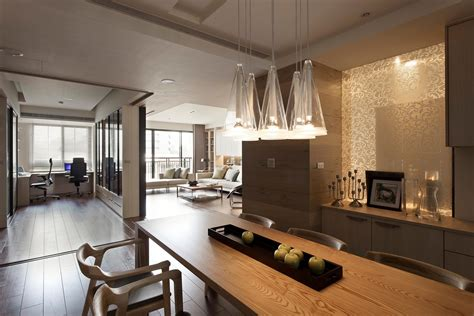 home interior wall apartment with a retractable interior wall