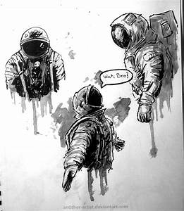 Astronaut quick sketches by an0ther-artist on DeviantArt
