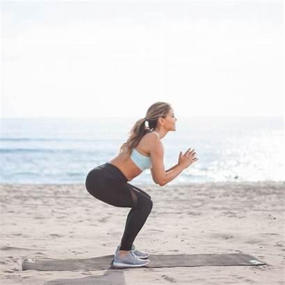 Squat Jumps Popsugar Booty Butt Tone Workout