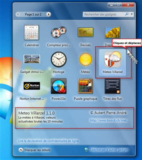 m騁駮 sur bureau windows 7 installer la meteo sur le bureau 28 images 201 volution de l interface pdf