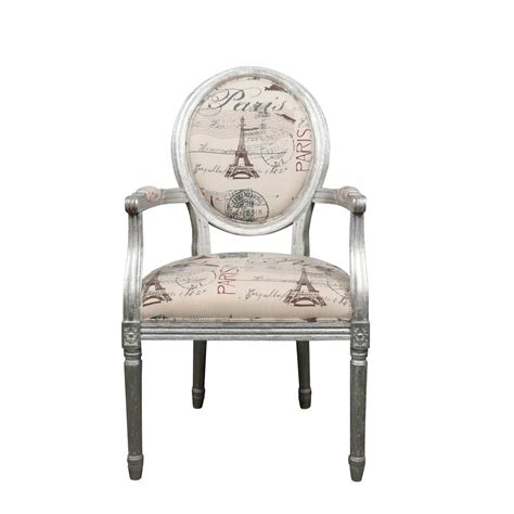 fauteuil de bureau louis xvi fauteuil louis xvi argent meuble baroque