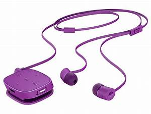 HP H5000 Neon Purple Bluetooth Headset J2X02AA