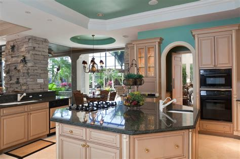 forest green kitchen 84 custom luxury kitchen island ideas designs pictures 1045