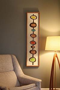 mid century danish modern witco styled wall art With mid century modern wall art