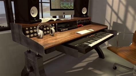 Hure Recording Studio Keyboard Desk Model Hu