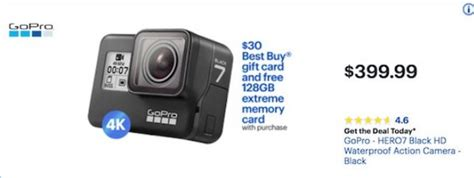 gopro hero black friday cyber monday deals funtober