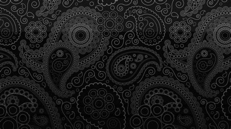 Black Paisley Hd Wallpapers Pixelstalknet Black Hd