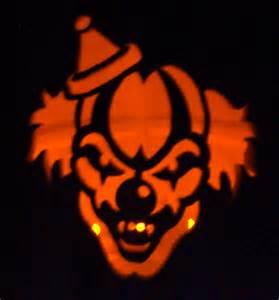 Clown Pumpkin Stencils Free by Scary Pumpkin Gif Images