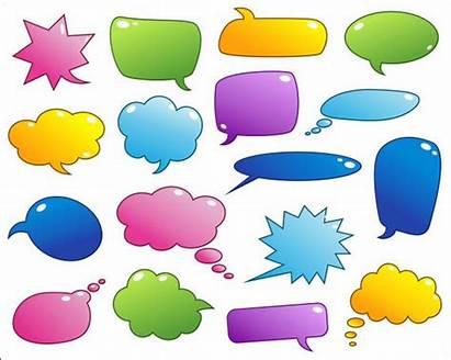 Speech Bubbles Clip Text Digital Frames Background