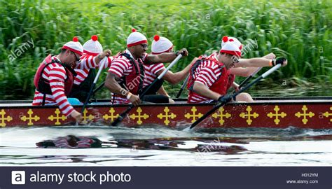 Dragon Boat Racing Team by Dragon Boat Racing A Team In Where S Wally Fancy Dress