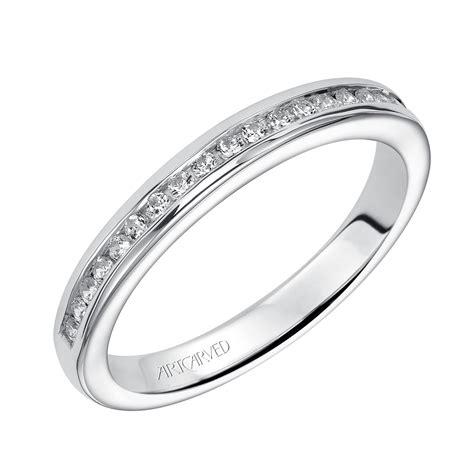 artcarved diamond wedding band 14k 31 v221w l ben bridge jeweler