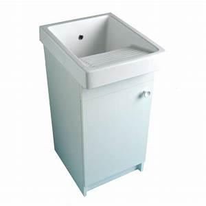 Bac A Laver : meuble pour bac laver volga leroy merlin ~ Melissatoandfro.com Idées de Décoration