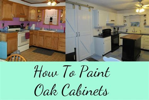 can you paint oak cabinets how to paint oak cabinets my repurposed life
