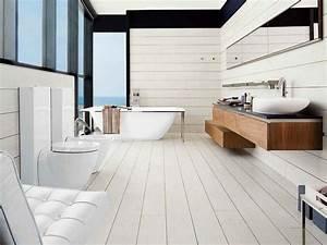 les 25 meilleures idees de la categorie salle de bains With porte d entrée pvc avec parquet salle de bain pont de bateau