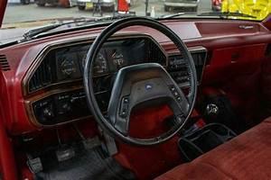1990 Ford F150 44451 Miles Maroon 4 9l I6 5