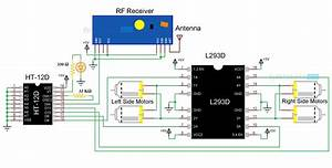 Voice Controlled Robot Block Diagram