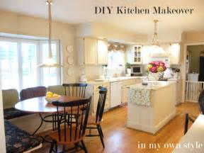 diy painting kitchen cabinets ideas kitchen makeover ideas on a budget afreakatheart