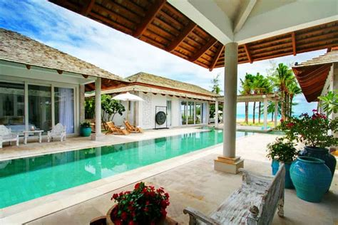 Tropical Villa by Beachfront Tropical Villa In Koh Samui