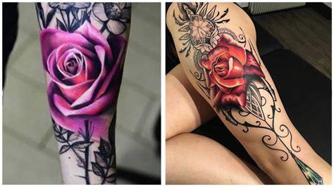 Tatuajes de rosas 2020 【 Significado y 32 ideas para