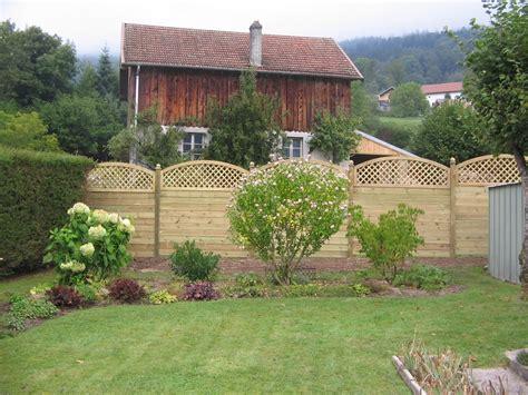 panneau bois jardin