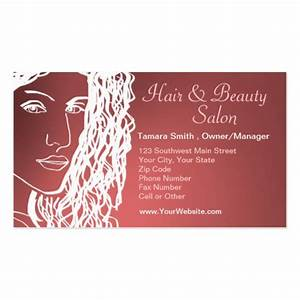 Hair beauty salon business card templates for Salon business cards templates