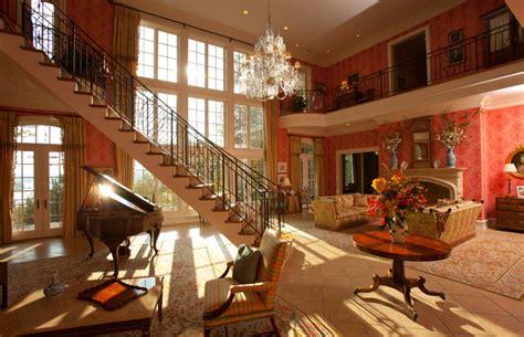 million dollar entry room traditional living room