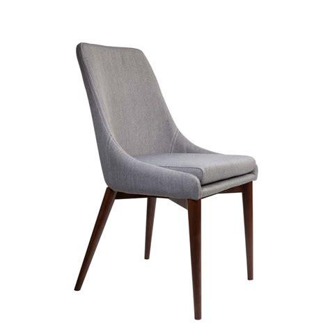 chaises tissus chaises en tissu juju x2 par drawer