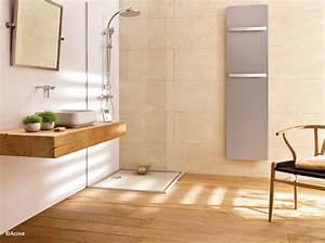 Salle De Bain En Bois : le bois sublime la salle de bains elle d coration ~ Teatrodelosmanantiales.com Idées de Décoration