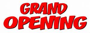 Grand Opening Vinyl Banners from $11.64 - 100 White