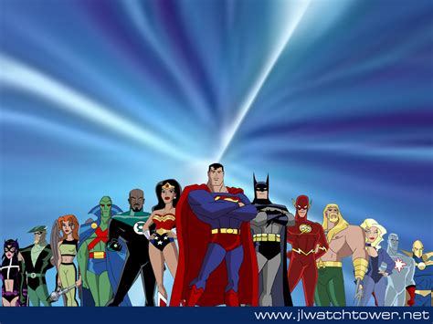 Justice League Animated Wallpaper - jlu wallpaper by xtophe on deviantart