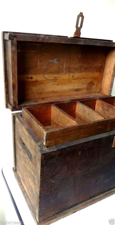 images  antique tool boxes cabinets  tools  pinterest antique woodworking