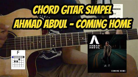 (chord Gitar) Coming Home
