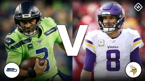 seahawks  vikings  score updates highlights
