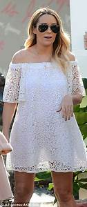 Pregnant Lauren Conrad cuts an angelic figure | Daily Mail ...
