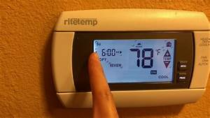 Ritetemp Thermostats Guide