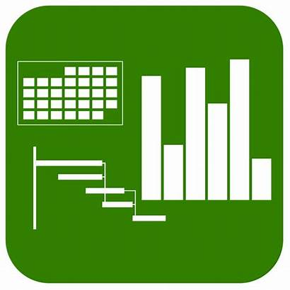 Icon Project Management Excel Chart Gantt Charts