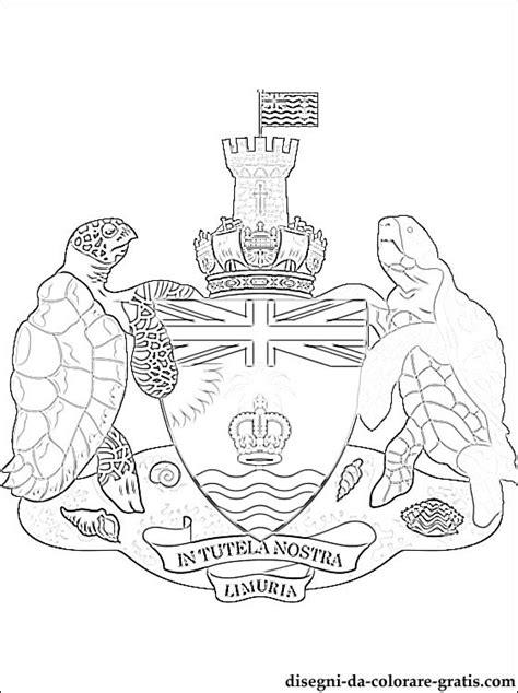emblema del territorio britannico delloceano indiano da
