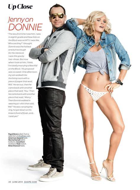 jenny mccarthy shape magazine usa june  issue