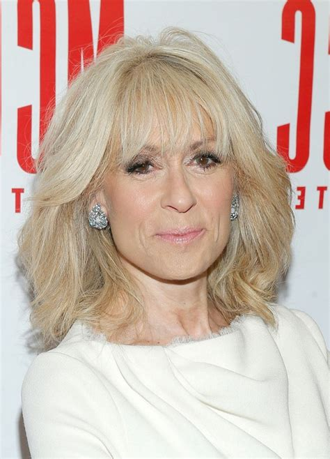 judith light latest textured medium haircut  layers  older women   styles weekly