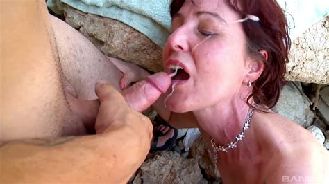 Nude Mature Fucked At The Beach By A Young Hunk Xbabe Video